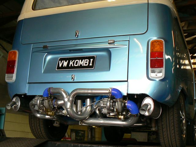 Alfie Twin turbo Kombi